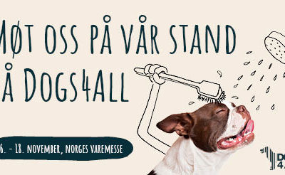 Møt oss på Dogs4All 2018